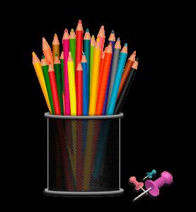 Iskolakezdési tippek - tolltartó és rajzszögek