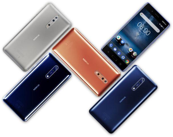 Nokia 8 - több színben