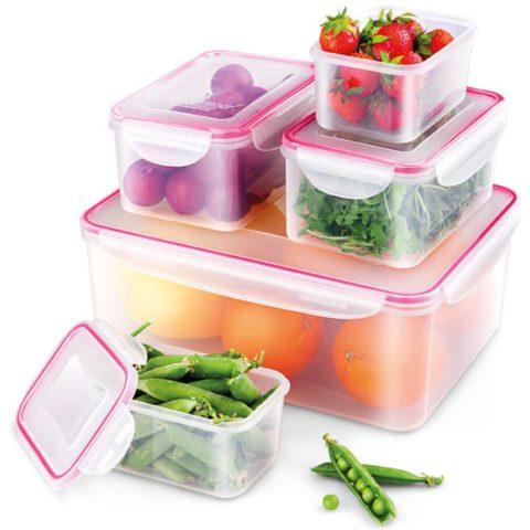 Az ételek frissességének a megőrzésére rendkívül fontos, hogy minőségi tároló dobozok álljanak a rendelkezésünkre!