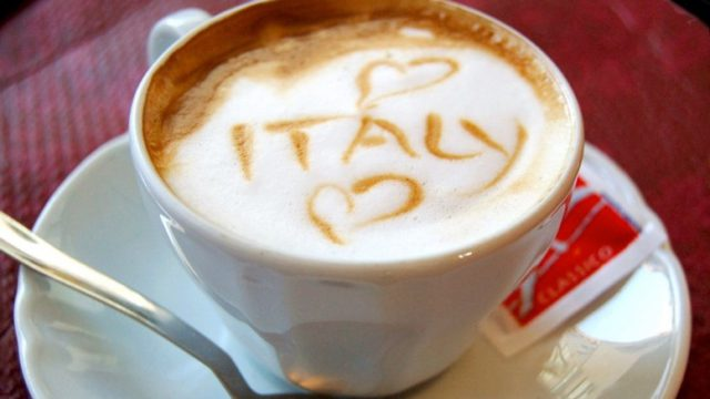 Olaszország előkelő helyen szerepel a kávé készítésben!