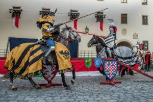 A lovagi tornák a középkor nagy eseményei voltak.